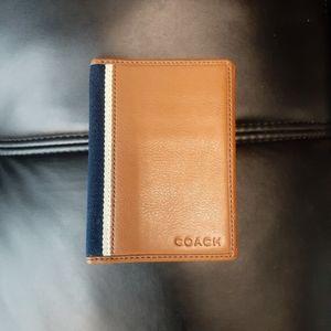 COPY - Coach Passport Holder
